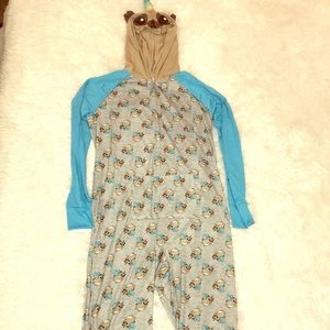 Unicorn Sloth onesie from justice